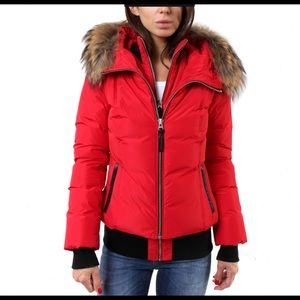 Mackage Romane Jacket. Dust cover, tags & spares